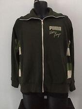 Walt Frazier Retro Puma Jacket Rare Men's Size M Basketball Legend