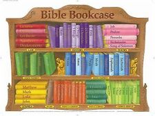 Bible Bookcase : Bible Bookcase Wall Chart-Laminated by Rose Publishing...
