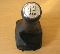 Pommeau de 6 Vitesses + Soufflet pour VW Polo 9N 9N2 2002-2009