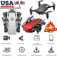 LF606 2.4G RC Mini Drone Camera 4K WiFi FPV Altitude Holding Quadcopter+Bag USA