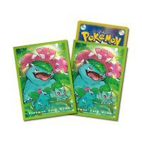 Pokemon center JAPAN - Venusaur Premium Card Deck Shields (64 Sleeves)