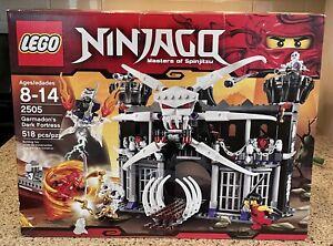LEGO Ninjago Garmadon's Dark Fortress (2505) New and Sealed Retired Set
