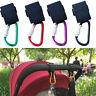 AM_ Buggy Strap Carabiner Clips Pram Bag Hooks for Pushchair Buggies Stroller Ey