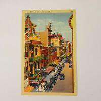 """Vtg San Francisco Chinatown Chop Suey Postcard 3.5"""" x 5.5"""" Piltz Co Post Card"""
