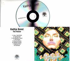 KADHJA BONET The Visitor 2017 UK 8-trk promo test CD