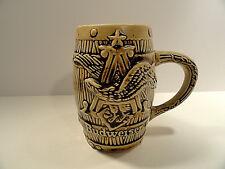 Ceramarte Budweiser Barell Beer Mug / Stein St. Louis. Mo. Brazil