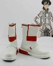 Sword Art Online Kazuto Kirigaya Kirito Cosplay Boots Boot Shoes Shoe UK