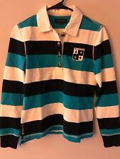 Tommy Hilfiger striped shirt Size Small With Patch