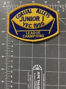 Vintage Coastal Valleys Junior I YFC 1990 League Champions Patch Youth Football