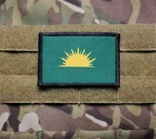 Irish Sunburst Flag 2x3 Tactical Hook Backed Military Morale Patch IRA Sinn Fein