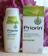 PRIORIN BAYER  Anti Hair loss Shampoo for mormal-dry hair,  200ml.