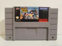 Wild Guns Super Nintendo SNES Authentic Tested Repro Label Same Day Shipping