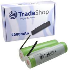 Bateria 2000mah 2,4v ni-mh para Philips Philishave hq7360 hq7363 hq7370