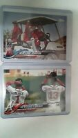 Trout, Shohei, Acuna, Albies Team Card Two Set 2018 ROOKIES Topps