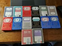 14 Decks(2 Colors)Playing Cards from 7 Las Vegas Casino's . Used in Casino.