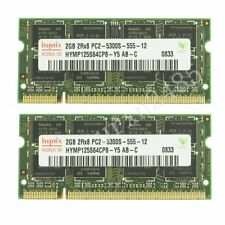 4GB 2x 2GB / 512MB DDR2-667MHz PC2-5300S SO-DIMM RAM Laptop Memory For Hynix CA