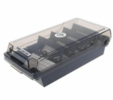 Business Card Holder Capacity Index Tabs For Name And Storage Boxes Organizer