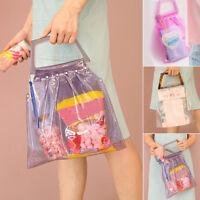 New Women Transparent Shoulder Bag Creative Clear Shoulder Crossbody Jelly Bags