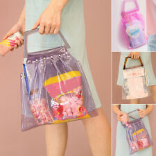 New Women Transparent Shoulder Bag Creative Clear Shoulder Crossbody Jelly Bags