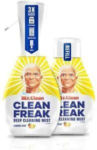 Mr. Clean Clean Freak 16oz spray bottle with refill Lemon Zest