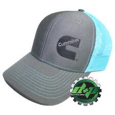 Dodge Cummins trucker hat ball mesh richardson blue black teal snap back cumming
