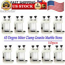 10X 45 Degree Stone Mitre Clamp, Granite Marble Slab Install Tool, Bevel Fixture