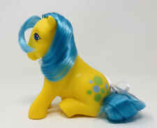 Vintage My Little Pony G1 MLP Earth Pony Sitting ~ BUBBLES ~ Excellent!