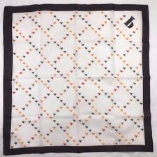 """Morsley Ladies Polyester Scarf 26 X 26"""" Initial Scarf - The Letter """"b"""""""