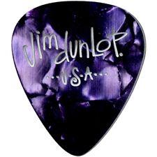 Dunlop 483P13TH Celluloid Classic Guitar Picks Purple Pearloid Thin 12-Pack