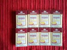 Dominion Sugar Free Sweets. Rhubarb And Custard Flavour, 44g Sealed. X 8 Boxes