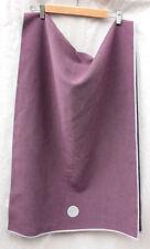 "MADUKA Skidless YogitoesNon Slip Yoga Mat Towel 24"" x 68""- PURPLE"