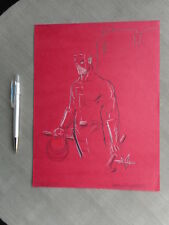 MATHEW REYNOLDS ORIGINAL ART DAREDEVIL EXCELLENT ETAT