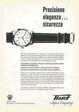 W0342 Orologio TISSOT Super Camping - Pubblicità 1953 - Advertising