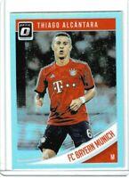 2018-19 Panini Donruss soccer Thiago Alcantara Tarjeta de inversión a prueba de prensa #20