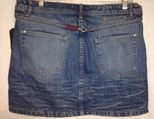 Marithe Francois Girbaud Womens Denim Compact X Skirt..Size 30.. Reg Price $98