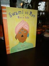 Swami on Rye - Max in India-Maira Kalman-Gorgeous Color Art-HB 1st Print DJ-1995