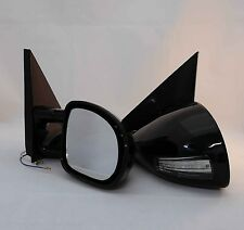 94-01 Chevy S10 M3 Black Manual Mirror With Amber LED Signal Light