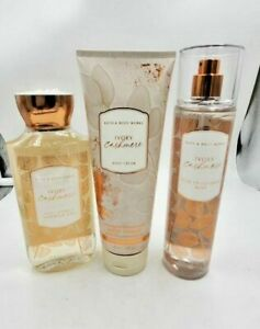 Bath and Body Works Ivory Cashmere Collection