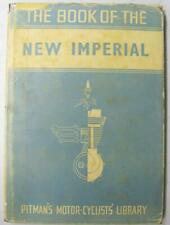 NEW IMPERIAL SV & OHV Models 1935 on Motorcycle Owners Handbook Pitmans 6th Ed.