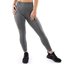 Mava Small High Waist Yoga Pants with Pockets Tummy Control for Workout Running