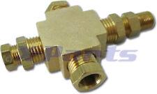 Adapter distributor for oil pressure oil temperature instruments
