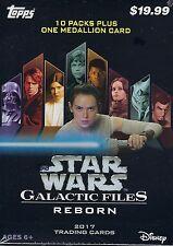 2017 Topps Star Wars Galatic Files Reborn Trading Cards 61ct. Blaster/Value Box