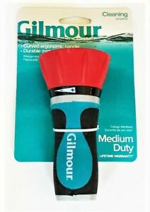 Gilmour Firemans Garden Hose Nozzle Powerful Cleaning Spray Pattern 804002-1001