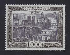 FRANCE 1950 Poste aérienne  PA 29 Vue de Paris 165€ ★★ neuf sans charnière