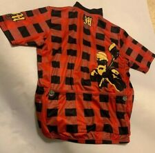 Declare Cycling Jersey Red Checker Lumber Jack Axe Hatchet Figure Medium