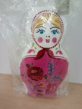 Large Babushka / Matryoshka  / Russian Doll Cushion / - 45cm, Embroidered