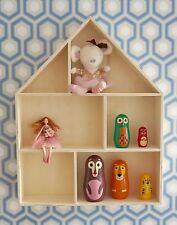 Grande maison en bois étagère de rangement décorative de chambres d'enfants decoupis