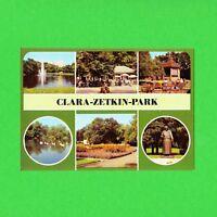 Ansichtskarte DDR Messestadt Leipzig, Clara-Zetkin-Park