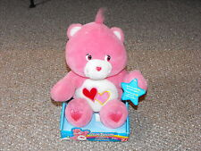 "2004 Play Along 10"" Care Bears Huggers Kissing Love-A-Lot Bear Brand New MIB"