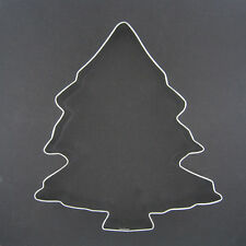 "CHRISTMAS TREE 5"" METAL COOKIE CUTTER HAPPY HOLIDAYS BAKING SWEETS PARTY NEW"